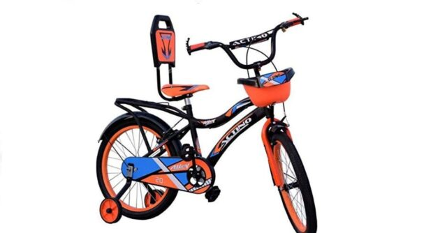 ACTINO Cycle for Kids (Unisex) (7-10 Years) Orange-16 Frame 627
