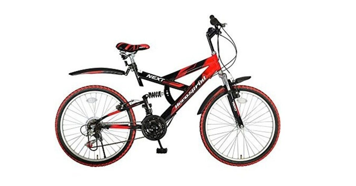 Cycle Hero-Sprint-Next-26T-18-Speed-Mountain-Bike-Ideal-For-12 years Cycle Smart Descending From Hill