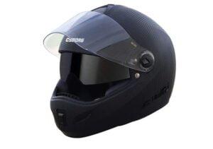 Steelbird India Helmet Cyborg Double Visor Full Face Helmet, Inner Smoke Sun Shield and Outer Clear Visor