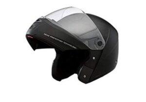 Studds Ninja Elite Black Helmet / C.Strip W.C.V(L)