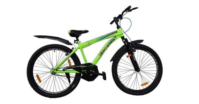 Hero Cycles Sprint Thorn 26T Sports Cycle with Front Suspension Age Group 12 Years and Above