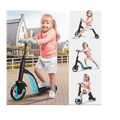 Mixen Heavy Duty Premium 3 in 1 Kids Tricycle | Kick Scooter | Tricycle | Balance Bike | with Adjustable Height Kids |Birthday Gift for Kids (Multicolor)