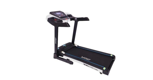 Fitkit FT200 Series 2.25HP (4.5HP Peak) Motorized Treadmill With Free Diet & Fitness Plan