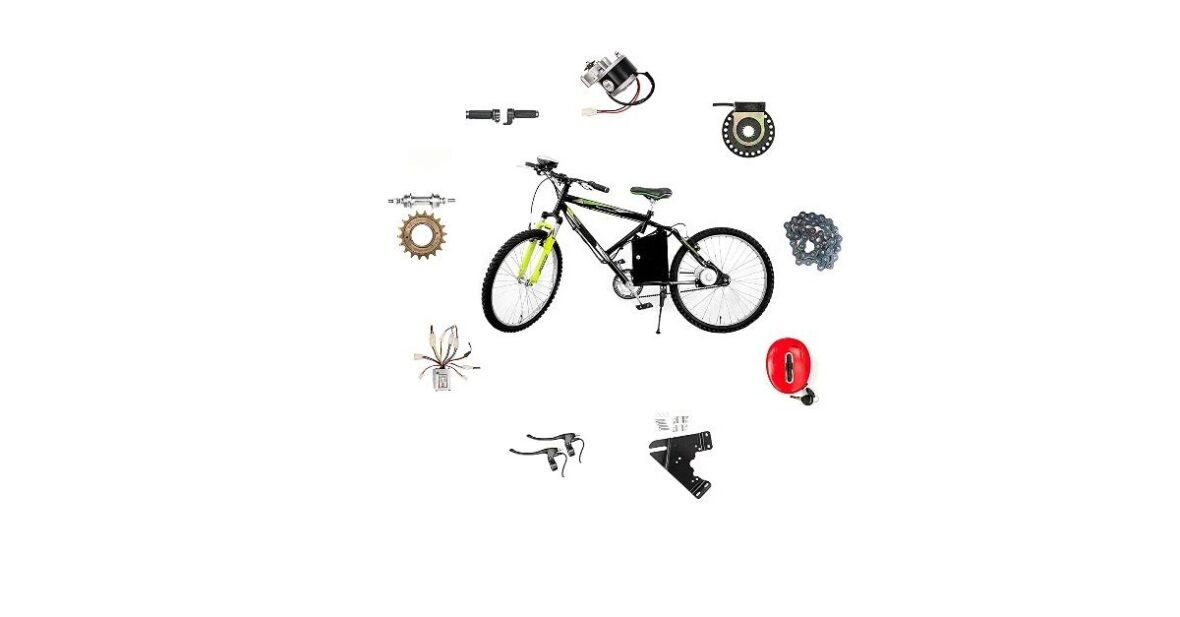 Convert Any Non Gear Normal Cycle into Electric Cycle