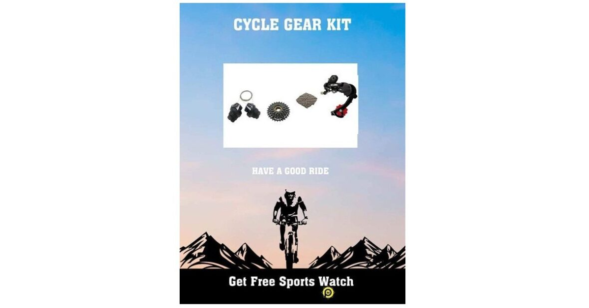 Convert Normal Cycle to Gear Cycle, The Best Complete Kit