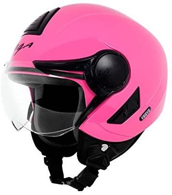Vega Verve Open Face Helmet (Women's, Pink, S)