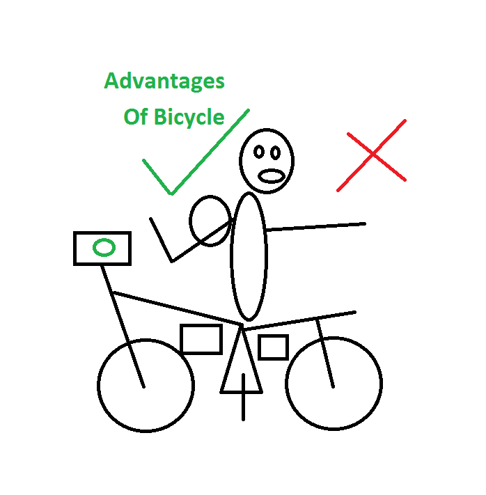 advantages and disadvantages of cycle
