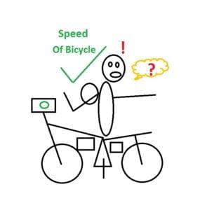 Maximum Speed of Bicycle